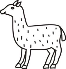 Lama - Lama, Tiere, Zoo, spucken, Anlaut L