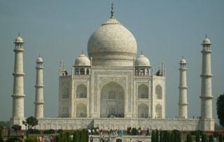 Taj Mahal - Indien, Agra, Grabmoschee, Mausoleum, Minarette, UNESCO-Weltkulturerbe, Mogulstil, islamische Kunst