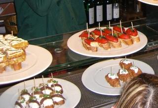 Tapas en un bar #2 - tapas, bar, comida, costumbre, Spanien, Barcelona, Madrid, Essen
