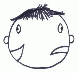 Januskopf - Kopf, lustig, traurig, Gegensätze, Janus, gut, schlecht, Doppelgesicht, Widerspruch, Zwiespältigkeit