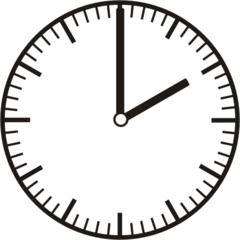 Uhrzeit 2.00   14.00 - Uhr, Uhrzeit, volle Stunde, ganze Stunde, Zeit, Zeitspanne, Zeitpunkt, Zeiger, Mechanik, Zeitskala, Zeitgeber, Analoguhr, Zifferblatt, Ziffernblatt, rechtsdrehend, Uhrzeigersinn, Minute, Kreis, Winkel, Grad, Mathematik, Größen, messen, time, clock, ermitteln, Zeitraum, Dauer, Frist, Termin, Zeitabschnitt