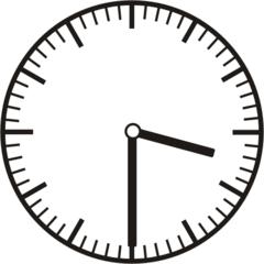 Uhrzeit 3.30    15.30 - Uhr, Uhrzeit, halb, Zeit, Zeitspanne, Zeitpunkt, Zeiger, Mechanik, Zeitskala, Zeitgeber, Analoguhr, Zifferblatt, Ziffernblatt, rechtsdrehend, Uhrzeigersinn, Minute, Stunde, Kreis, Winkel, Grad, Mathematik, Größen, messen, time, clock, ermitteln, Zeitraum, Dauer, Frist, Termin, Zeitabschnitt, half past
