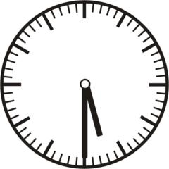 Uhrzeit   5.30     17.30 - Uhr, Uhrzeit, halb, Zeit, Zeitspanne, Zeitpunkt, Zeiger, Mechanik, Zeitskala, Zeitgeber, Analoguhr, Zifferblatt, Ziffernblatt, rechtsdrehend, Uhrzeigersinn, Minute, Stunde, Kreis, Winkel, Grad, Mathematik, Größen, messen, time, clock, ermitteln, Zeitraum, Dauer, Frist, Termin, Zeitabschnitt, half past