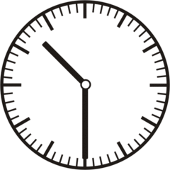 Uhrzeit  10.30    22.30 - Uhr, Uhrzeit, halb, Zeit, Zeitspanne, Zeitpunkt, Zeiger, Mechanik, Zeitskala, Zeitgeber, Analoguhr, Zifferblatt, Ziffernblatt, rechtsdrehend, Uhrzeigersinn, Minute, Stunde, Kreis, Winkel, Grad, Mathematik, Größen, messen, time, clock, ermitteln, Zeitraum, Dauer, Frist, Termin, Zeitabschnitt, half past