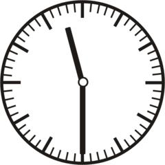 Uhrzeit 11.30    23.30 - Uhr, Uhrzeit, halb, Zeit, Zeitspanne, Zeitpunkt, Zeiger, Mechanik, Zeitskala, Zeitgeber, Analoguhr, Zifferblatt, Ziffernblatt, rechtsdrehend, Uhrzeigersinn, Minute, Stunde, Kreis, Winkel, Grad, Mathematik, Größen, messen, time, clock, ermitteln, Zeitraum, Dauer, Frist, Termin, Zeitabschnitt, half past