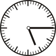 Uhrzeit 5.15   17.15 - Uhr, Uhrzeit, viertel nach, Zeit, Zeitspanne, Zeitpunkt, Zeiger, Mechanik, Zeitskala, Zeitgeber, Analoguhr, Zifferblatt, Ziffernblatt, rechtsdrehend, Uhrzeigersinn, Minute, Stunde, Kreis, Winkel, Grad, Mathematik, Größen, messen, time, clock, ermitteln, Zeitraum, Dauer, Frist, Termin, Zeitabschnitt, quarter