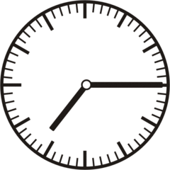 Uhrzeit 7.15   19.15 - Uhr, Uhrzeit, viertel nach, Zeit, Zeitspanne, Zeitpunkt, Zeiger, Mechanik, Zeitskala, Zeitgeber, Analoguhr, Zifferblatt, Ziffernblatt, rechtsdrehend, Uhrzeigersinn, Minute, Stunde, Kreis, Winkel, Grad, Mathematik, Größen, messen, time, clock, ermitteln, Zeitraum, Dauer, Frist, Termin, Zeitabschnitt, quarter