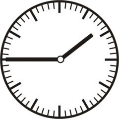 Uhrzeit  1.45    13.45 - Uhr, Uhrzeit, dreiviertel, viertel vor, Zeit, Zeitspanne, Zeitpunkt, Zeiger, Mechanik, Zeitskala, Zeitgeber, Analoguhr, Zifferblatt, Ziffernblatt, rechtsdrehend, Uhrzeigersinn, Minute, Stunde, Kreis, Winkel, Grad, Mathematik, Größen, messen, time, clock, ermitteln, Zeitraum, Dauer, Frist, Termin, Zeitabschnitt, quarter