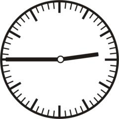 Uhrzeit   2.45    14.45 - Uhr, Uhrzeit, dreiviertel, viertel vor, Zeit, Zeitspanne, Zeitpunkt, Zeiger, Mechanik, Zeitskala, Zeitgeber, Analoguhr, Zifferblatt, Ziffernblatt, rechtsdrehend, Uhrzeigersinn, Minute, Stunde, Kreis, Winkel, Grad, Mathematik, Größen, messen, time, clock, ermitteln, Zeitraum, Dauer, Frist, Termin, Zeitabschnitt, quarter