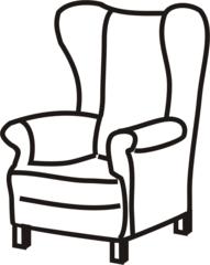 Sessel - Sessel, Stuhl, Sitz, Lehne, Anlaut S, Sitzmöbel, Armlehne, Ohrensessel, Lehnsessel, Polstermöbel, Sitzgelegenheit, Möbel, Möbelstück, sitzen