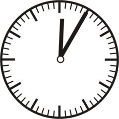 Uhrzeit  0.05    12.05 - Uhr, fünf Minuten, Uhrzeit, Zeit, Zeitspanne, Zeitpunkt, Zeiger, Mechanik, Zeitskala, Zeitgeber, Analoguhr, Zifferblatt, Ziffernblatt, rechtsdrehend, Uhrzeigersinn, Minute, Stunde, Kreis, Winkel, Grad, Mathematik, Größen, messen, time, clock, ermitteln, Zeitraum, Dauer, Frist, Termin, Zeitabschnitt, five minutes