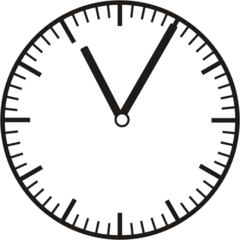Uhrzeit   11.05   23.05 - Uhr, fünf Minuten, Uhrzeit, Zeit, Zeitspanne, Zeitpunkt, Zeiger, Mechanik, Zeitskala, Zeitgeber, Analoguhr, Zifferblatt, Ziffernblatt, rechtsdrehend, Uhrzeigersinn, Minute, Stunde, Kreis, Winkel, Grad, Mathematik, Größen, messen, time, clock, ermitteln, Zeitraum, Dauer, Frist, Termin, Zeitabschnitt, five minutes