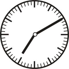 Uhrzeit   7.10   19.10 - Uhr, zehn Minuten nach, Uhrzeit, Zeit, Zeitspanne, Zeitpunkt, Zeiger, Mechanik, Zeitskala, Zeitgeber, Analoguhr, Zifferblatt, Ziffernblatt, rechtsdrehend, Uhrzeigersinn, Minute, Stunde, Kreis, Winkel, Grad, Mathematik, Größen, messen, time, clock, ermitteln, Zeitraum, Dauer, Frist, Termin, Zeitabschnitt, ten minutes