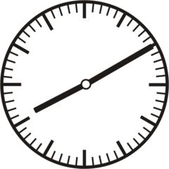Uhrzeit  8.10   20.10 - Uhr, zehn Minuten nach, Uhrzeit, Zeit, Zeitspanne, Zeitpunkt, Zeiger, Mechanik, Zeitskala, Zeitgeber, Analoguhr, Zifferblatt, Ziffernblatt, rechtsdrehend, Uhrzeigersinn, Minute, Stunde, Kreis, Winkel, Grad, Mathematik, Größen, messen, time, clock, ermitteln, Zeitraum, Dauer, Frist, Termin, Zeitabschnitt, ten minutes