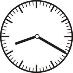 Uhrzeit  8.20   20.20 - Uhr, zehn Minuten vor, 20 Minuten nach, Uhrzeit, Zeit, Zeitspanne, Zeitpunkt, Zeiger, Mechanik, Zeitskala, Zeitgeber, Analoguhr, Zifferblatt, Ziffernblatt, rechtsdrehend, Uhrzeigersinn, Minute, Stunde, Kreis, Winkel, Grad, Mathematik, Größen, messen, time, clock, ermitteln, Zeitraum, Dauer, Frist, Termin, Zeitabschnitt, twenty