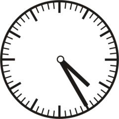 Uhrzeit  4.25  16.25 - Uhr, fünf Minuten vor, Uhrzeit, Zeit, Zeitspanne, Zeitpunkt, Zeiger, Mechanik, Zeitskala, Zeitgeber, Analoguhr, Zifferblatt, Ziffernblatt, rechtsdrehend, Uhrzeigersinn, Minute, Stunde, Kreis, Winkel, Grad, Mathematik, Größen, messen, time, clock, ermitteln, Zeitraum, Dauer, Frist, Termin, Zeitabschnitt, twenty-five