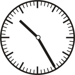 Uhrzeit 10.25  22.25 - Uhr, fünf Minuten vor, Uhrzeit, Zeit, Zeitspanne, Zeitpunkt, Zeiger, Mechanik, Zeitskala, Zeitgeber, Analoguhr, Zifferblatt, Ziffernblatt, rechtsdrehend, Uhrzeigersinn, Minute, Stunde, Kreis, Winkel, Grad, Mathematik, Größen, messen, time, clock, ermitteln, Zeitraum, Dauer, Frist, Termin, Zeitabschnitt, twenty-five