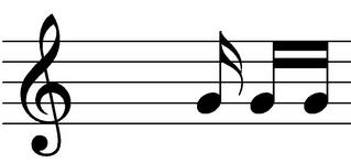 Sechzehntelnote, Semifusa, Semichroma - Note, Notation, Notenwert