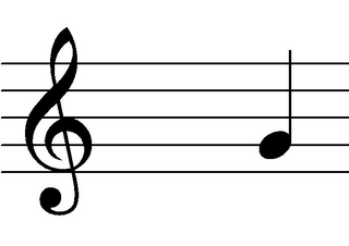 Viertelnote - Semiminima - Note, Notation, Notemwert