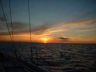 Sonnenuntergang - Sonnenuntergang, Sonne, Meer, Wasser, Ostsee, Wetter, Abend, Dämmerung