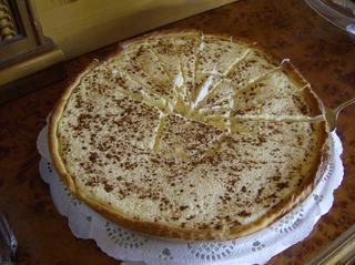 Rahmkuchen - Kuchen, Rahmkuchen, Rahm, Zimt, Zucker, backen, Teig, Belag, Hefeteig