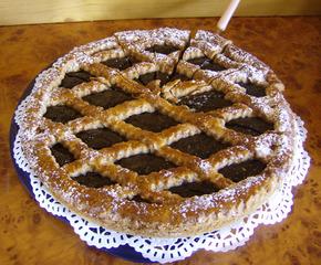 Linzer Torte - Kuchen, Torte, Linzer Torte, Mürbteig, Gitter, Teiggitter, Marmelade