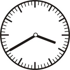 Uhrzeit 3.40 15.40 - Uhr, zehn Minuten nach halb, 20 Minuten vor, Uhrzeit, Zeit, Zeitspanne, Zeitpunkt, Zeiger, Mechanik, Zeitskala, Zeitgeber, Analoguhr, Zifferblatt, Ziffernblatt, rechtsdrehend, Uhrzeigersinn, Minute, Stunde, Kreis, Winkel, Grad, Mathematik, Größen, messen, time, clock, ermitteln, Zeitraum, Dauer, Frist, Termin, Zeitabschnitt