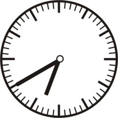 Uhrzeit 6.40 18.40 - Uhr, zehn Minuten nach halb, 20 Minuten vor, Uhrzeit, Zeit, Zeitspanne, Zeitpunkt, Zeiger, Mechanik, Zeitskala, Zeitgeber, Analoguhr, Zifferblatt, Ziffernblatt, rechtsdrehend, Uhrzeigersinn, Minute, Stunde, Kreis, Winkel, Grad, Mathematik, Größen, messen, time, clock, ermitteln, Zeitraum, Dauer, Frist, Termin, Zeitabschnitt