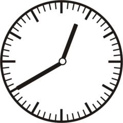 Uhrzeit 12.40 0.40 - Uhr, zehn Minuten nach halb, 20 Minuten vor, Uhrzeit, Zeit, Zeitspanne, Zeitpunkt, Zeiger, Mechanik, Zeitskala, Zeitgeber, Analoguhr, Zifferblatt, Ziffernblatt, rechtsdrehend, Uhrzeigersinn, Minute, Stunde, Kreis, Winkel, Grad, Mathematik, Größen, messen, time, clock, ermitteln, Zeitraum, Dauer, Frist, Termin, Zeitabschnitt