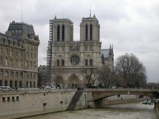 Notre Dame de Paris - Paris, Notre Dame, Kathedrale, Erzbistum Paris, Kirchengebäude, gotisch, Fassade, Türme, Geschichte