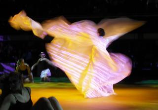 Tänzerin #1 - Tanz, Tänzerin, Bewegung, Ritual, Brauchtum, Kunstgattung, Berufstätigkeit, Sportart, Therapieform, Gefühlsausdruck, Schautanz, drehen