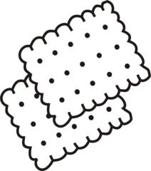 Butterkekse - Keks, Plätzchen, Süßigkeit, Gebäck, Anlaut K, zwei, Mehrzahl
