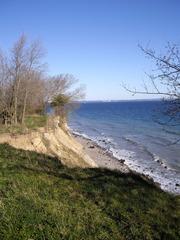 Brodtener Steilufer #2 - Ostsee, Steilufer, Abbruchkante, aktives Kliff, Baum, Strand, Lübecker Bucht, Niendorf, Travemünde, Ufer, Küste