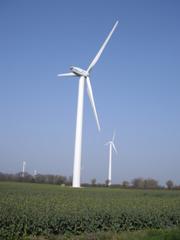 Windkraftanlage - Windkraftanlage, Windenergie, regenerative Energie, onshore, Stromnetz, Rotorblätter, Generator, Ostholstein, Elektrizität, Strom, Kraftwerk, Windkraftwerk