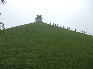 Löwenhügel - Butte du Lion - Waterloo, Belgien, Schlacht, Krieg, Napoleon, 1815, Wellington, Blücher, Frankreich, Preußen, England