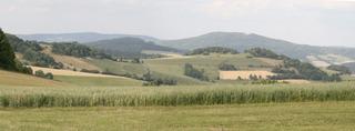 Rhön - Rhön, Landschaft, HSU, Erdkunde, Wiese, Blumenwiese, Sommerwiese, Kornfeld