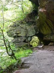 Felsdurchbruch - Fels, Durchbruch, Nürnberg, Schwarzachtal