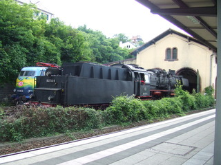 Dampflok #2 - Damplokomotive, Dampflok, Verkehr, Lok, Lokomotive, Dampfmaschine, Eisenbahn, Bahn, Schreibanlass