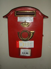 Briefkasten - Post, Briefkasten, Kommunikation, Belgien, Brüssel