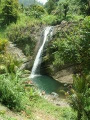 Ein Wasserfall - Wasserfall, Wasser, Grenada, Felsen, Bach, Bäume