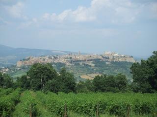 Orvieto - Orvieto, Stadt, Architektur, Italien, Umbrien, Weinbaugebiet, Provinz Terni, Felsplateau, Tuffgestein