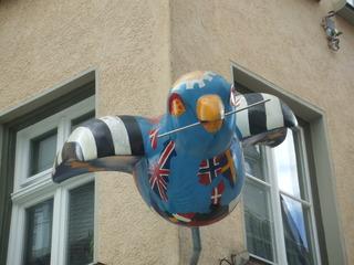 Ulmer Spatz - Ulm, Spatz, Vogel, Sage, Skulptur, Kunst