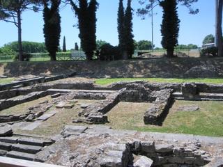Aquileia -  Hafen #4 - Italien, Aquileia, Hafen, Porto, Ausgrabung, Ruine, Mauerreste