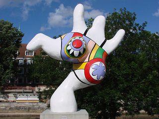 Hannoversche Nana # 1 - Nana, Niki de Saint Phalle, Hannover, Figur, Skulptur, bunt, groß, Frau