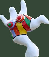 Hannoversche Nana  #2 - Nana, Niki de Saint Phalle, Hannover, Skulptur, Figur, groß, bunt, Frau
