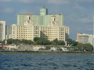 Der Malecon auf Kuba - Malecon, Kuba, Havana, Havanna, Wasser, Wasserseite Kuba, Haus, Hochhaus