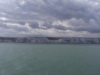 White Cliffs of Dover - England, Klippen, Dover, Kreidefelsen, Erosion, Kliff