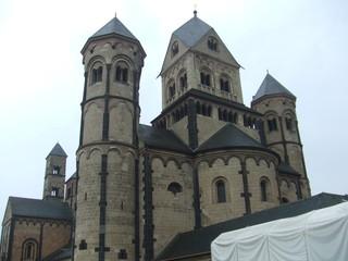 Maria Laach - Kloster, Kirche, Architektur, Religion, Eifel, Romanik, Abtei, Klosterkirche