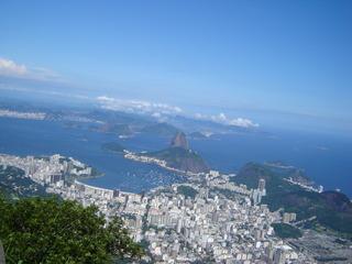 Zuckerhut in Rio de Janeiro - Rio de Janeiro, Rio, Brasilien, Zuckerhut, Corcovado, Morro da Urca, Granithügel, Wahrzeichen, Copacabana