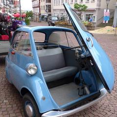 BMW ISETTA #1 - BMW, Oldtimer, Isetta, Auto, Rollermobil, Kleinwagen